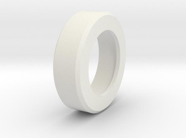 P/N NSCROD1, Steelcase roller, ball bearing adapt in White Natural Versatile Plastic