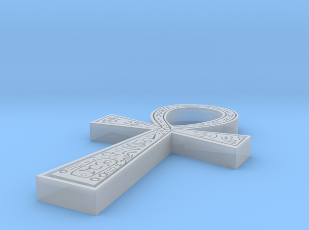 Ankh smaller in Smoothest Fine Detail Plastic