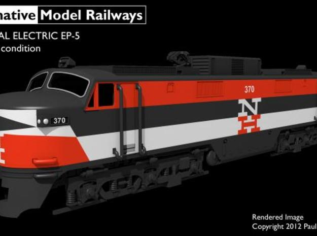 NEP502 N scale EP-5 loco - as built + guides