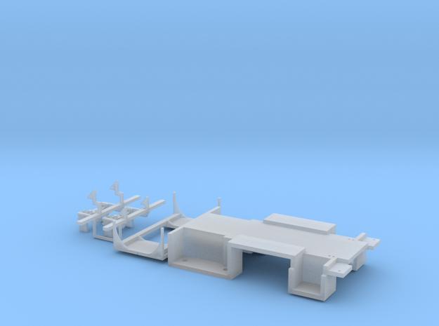 H0 1:87 Zubehör für MAN GrKa 18t Set2 in Smooth Fine Detail Plastic
