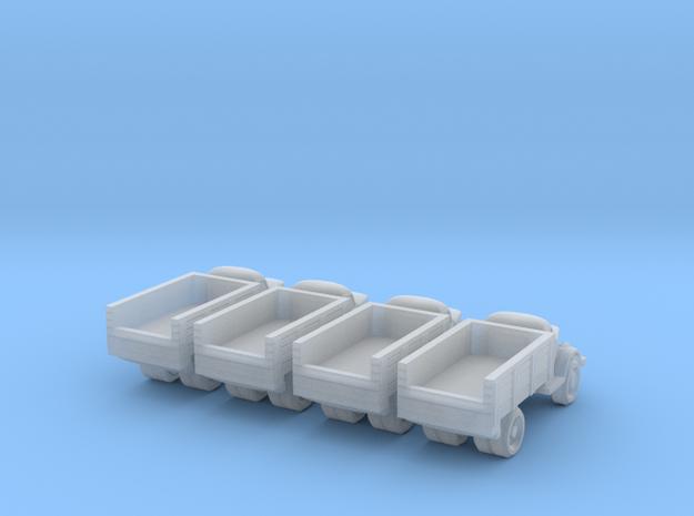 6mm GAZ-51 trucks in Smoothest Fine Detail Plastic