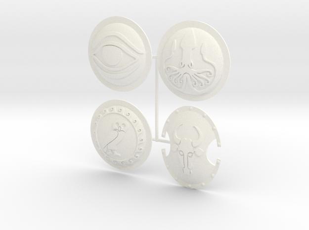 ETHAN 8  in White Processed Versatile Plastic