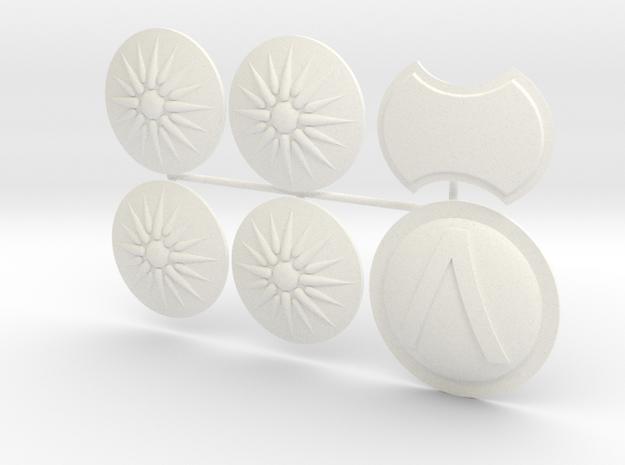ETHAN 7  in White Processed Versatile Plastic