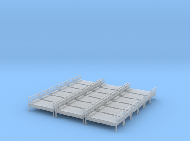 Bed 01. HO Scale (1:87) in Smooth Fine Detail Plastic