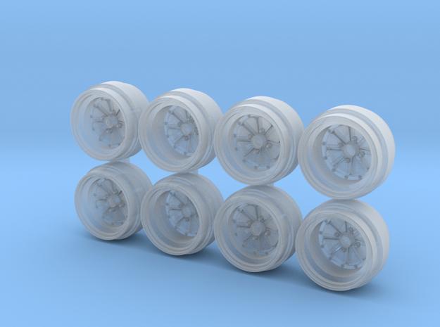 Super River 8-6 Hot Wheels Rims in Smoothest Fine Detail Plastic