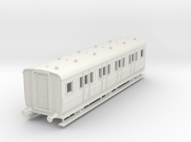 o-76-ecjs-6w-corridor-1st-coach in White Natural Versatile Plastic