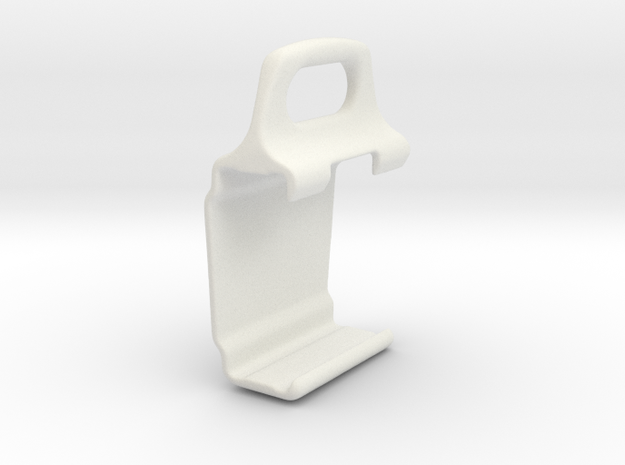 Handle CGH B  in White Natural Versatile Plastic