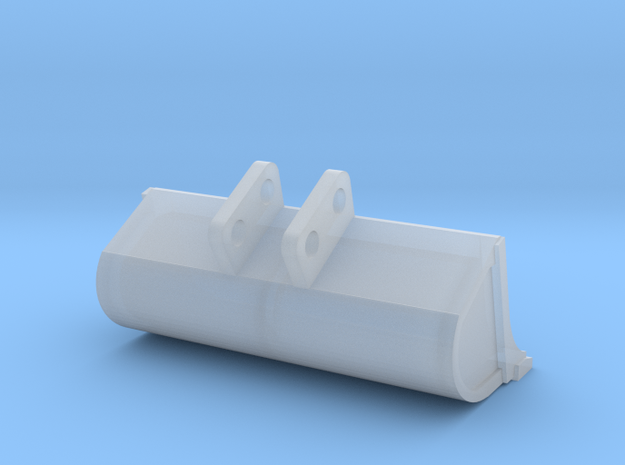 1/50 Bobcat E35 ditch bucket in Smooth Fine Detail Plastic