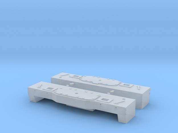 MTE Traverses Renforcées pour machine reversible in Smoothest Fine Detail Plastic