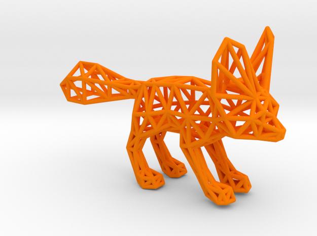Fennec Fox (adult) in Orange Processed Versatile Plastic