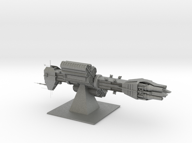 Earth Alliance - Omega-Destroyer (6.6 x / 2.378 y  in Gray Professional Plastic