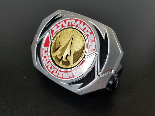 '93 Power Morpher Lord Drakkon Coin in Polished Bronze Steel