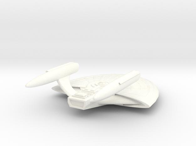 USS Bellatrix in White Processed Versatile Plastic