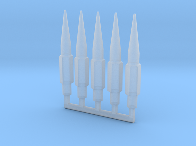 Spikes_01 in Smooth Fine Detail Plastic