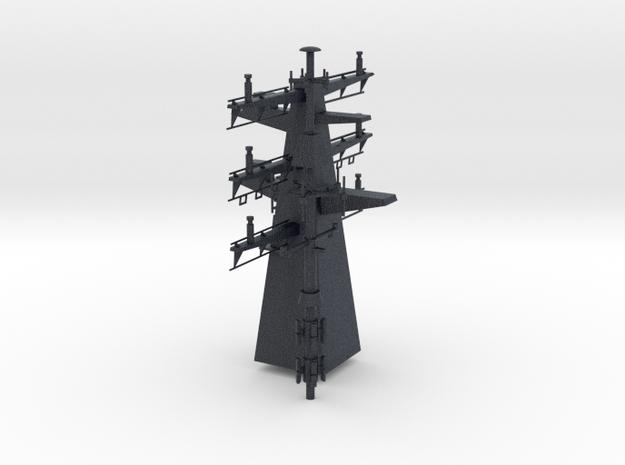1/96 scale Bergamini - Rear Mast in Black PA12