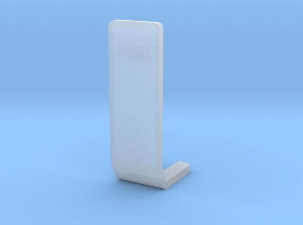 Pioneer Turntable Overhang Gauge  in Smooth Fine Detail Plastic