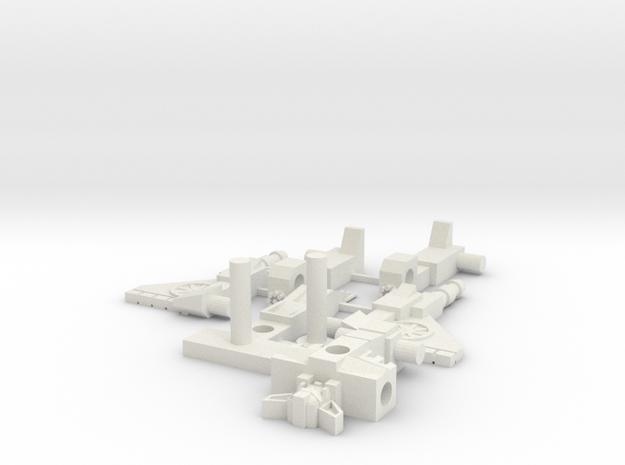 Vampiric Loner - 3mm compatible (75% size) in White Natural Versatile Plastic
