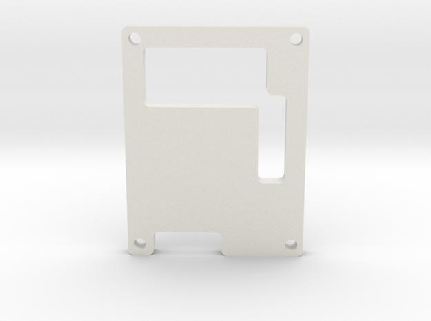 6_Channel_ServoControllerEnclosure_Cover.ipt in White Natural Versatile Plastic