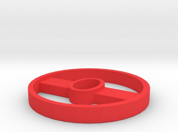 Species 8472 - Damaged Indicator in Red Processed Versatile Plastic