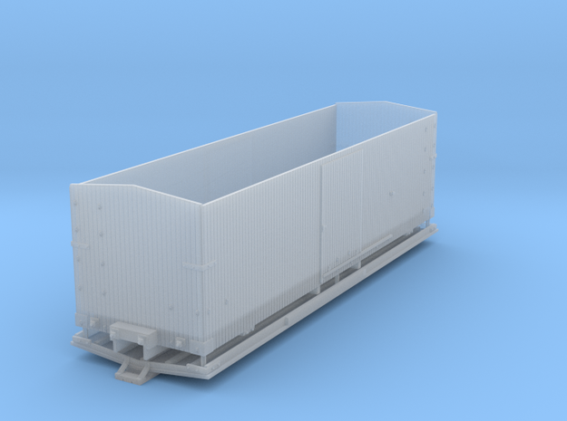 SP-Box Car-HOn3 in Smooth Fine Detail Plastic