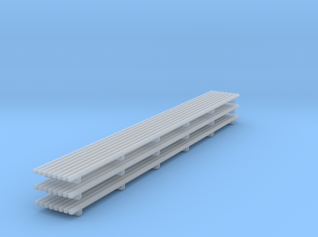 Panel Moulding 02. 1:24 Scale in Smooth Fine Detail Plastic