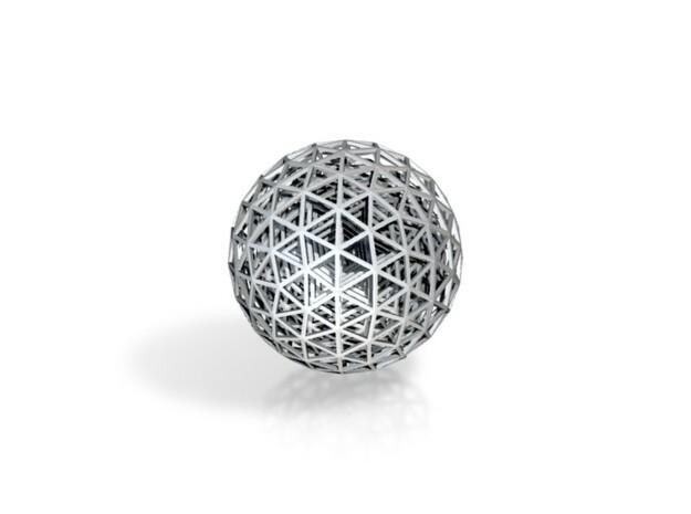 WireSphere 3d printed