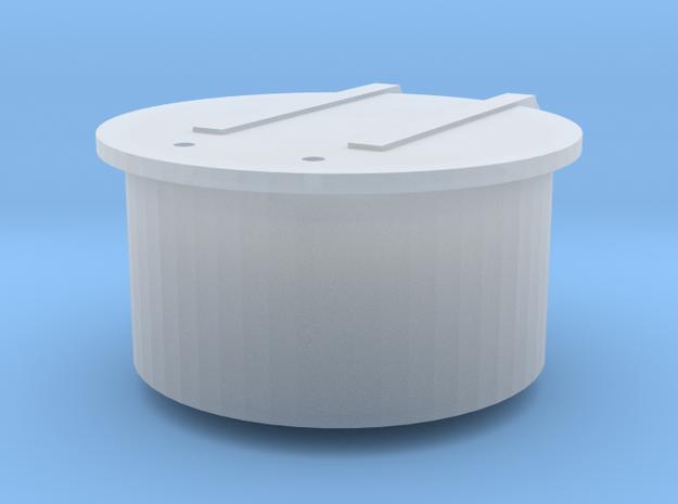 119 tender filler cover in Smooth Fine Detail Plastic