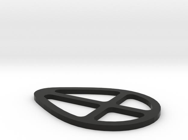 Fuji SST Seat Post Spacer - 2mm in Black Natural Versatile Plastic