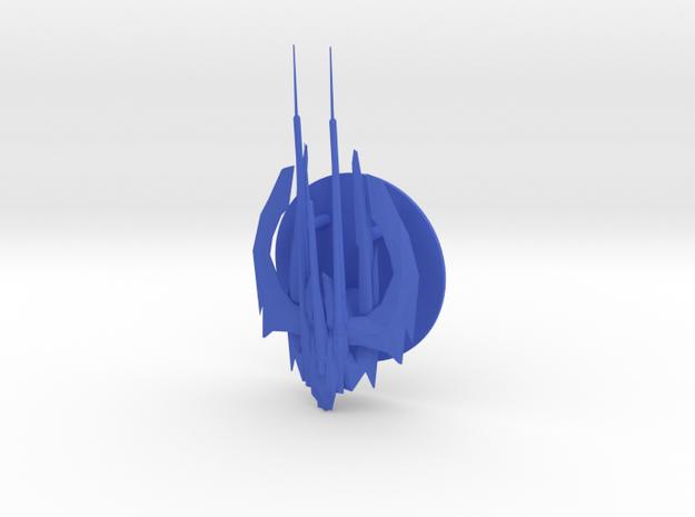 Xindi Reptilian Ship in Blue Processed Versatile Plastic