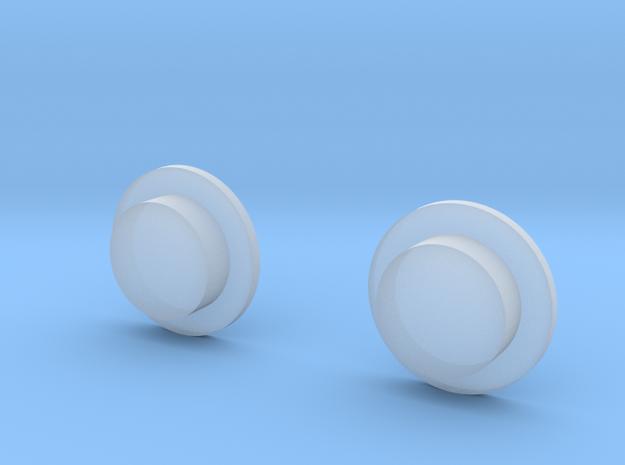 Sportello Billet Box Rev4 Button v2.0  in Smoothest Fine Detail Plastic