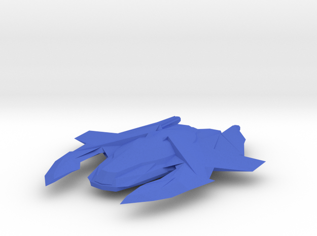Xindi - Aboreale Ship in Blue Processed Versatile Plastic