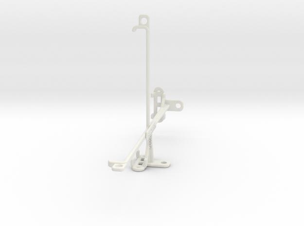 BlackBerry Playbook 2012 tripod & stabilizer mount in White Natural Versatile Plastic