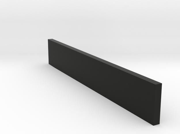 flap voor schuif in Black Natural Versatile Plastic