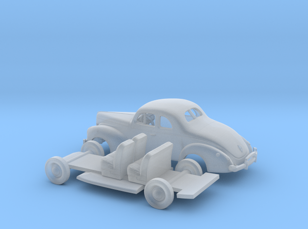 1/87 1940 Ford Eight Coupe Kit in Smooth Fine Detail Plastic