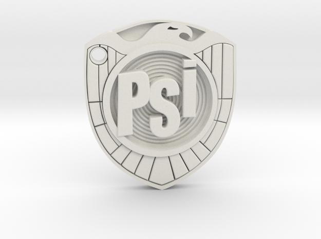 psi judge badge in White Premium Versatile Plastic
