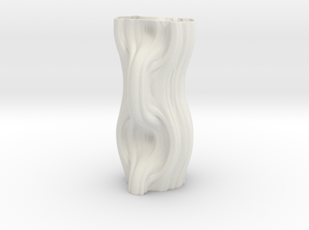 Vase 7144m in White Natural Versatile Plastic