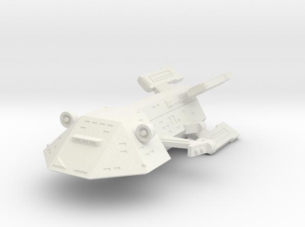 3125 Scale Kzinti New Heavy Cruiser (NCA) SRZ in White Natural Versatile Plastic