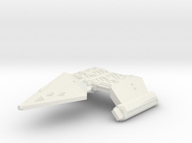 3125 Scale Neo-Tholian Strike Carrier (NCV) SRZ in White Natural Versatile Plastic