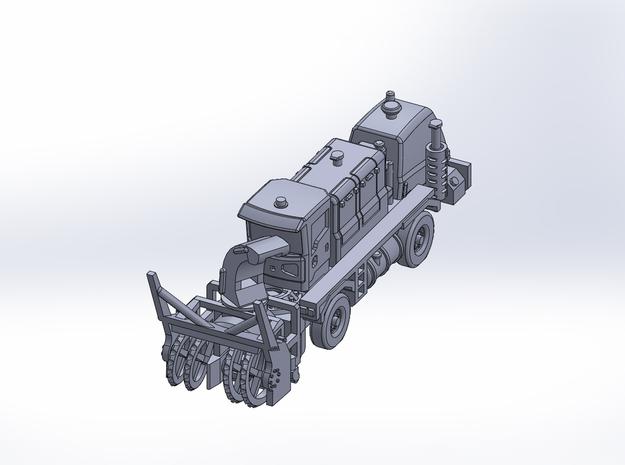OK H gen3 ver3 blower rev2 in Smoothest Fine Detail Plastic: 1:200