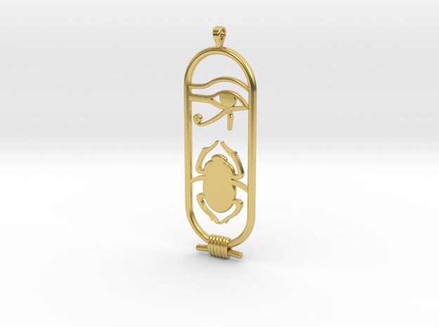 Egyptian Luck in Polished Brass