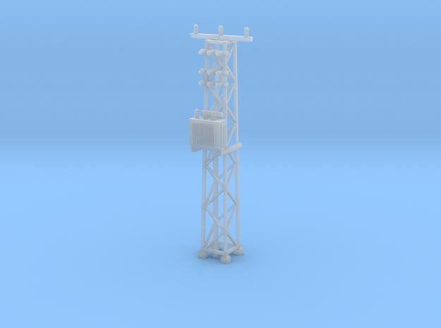 N Scale Distribution Transformer Pylon #2 in Smooth Fine Detail Plastic