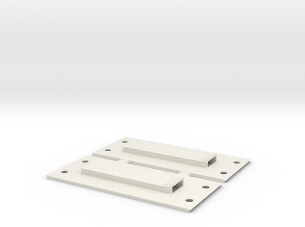 VS410 VS4-10 Slider Skid Plate Rock Light Strip  in White Natural Versatile Plastic