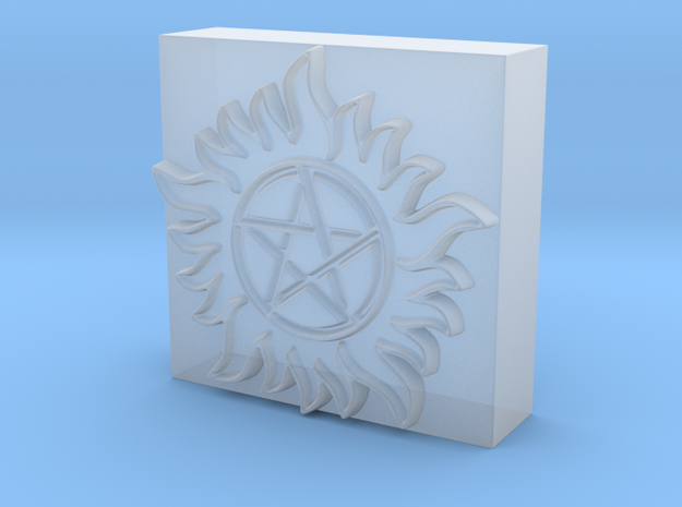 3D Anti-Possession Leather Embossing Stamp in Smooth Fine Detail Plastic