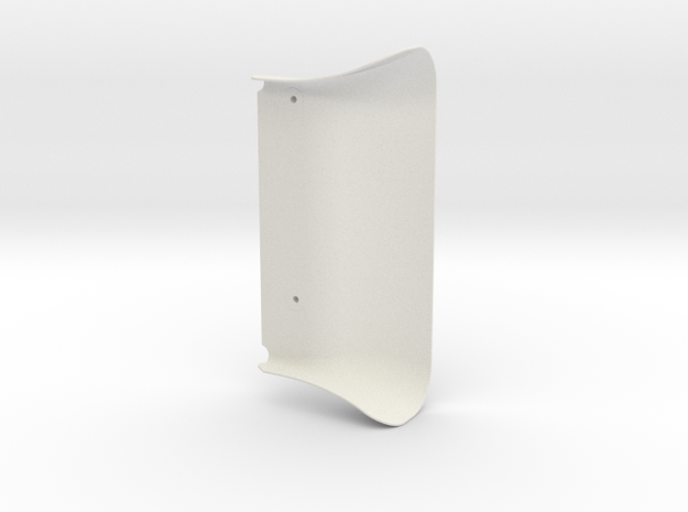 Airscoop for Buri 1.2 original fan holder in White Natural Versatile Plastic