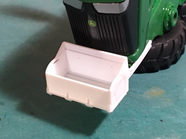 (2) 4WD ROCK BOX - TRACTOR MOUNT in Smooth Fine Detail Plastic