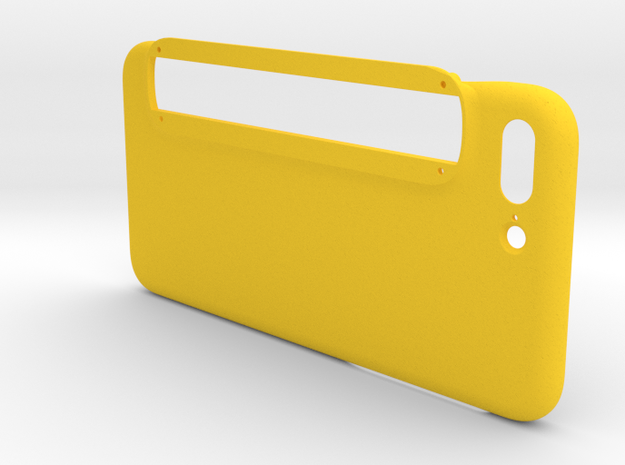 iPhone 7 Plus Case for Structure Sensor in Yellow Processed Versatile Plastic