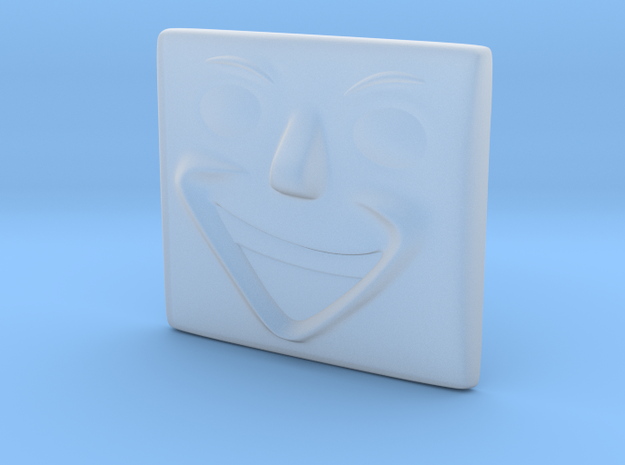 Laughing Face in Smoothest Fine Detail Plastic