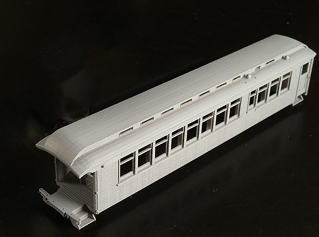 D&RGW Salida parlor car in Smooth Fine Detail Plastic