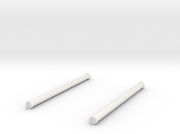 1/64 hard suction set in White Natural Versatile Plastic