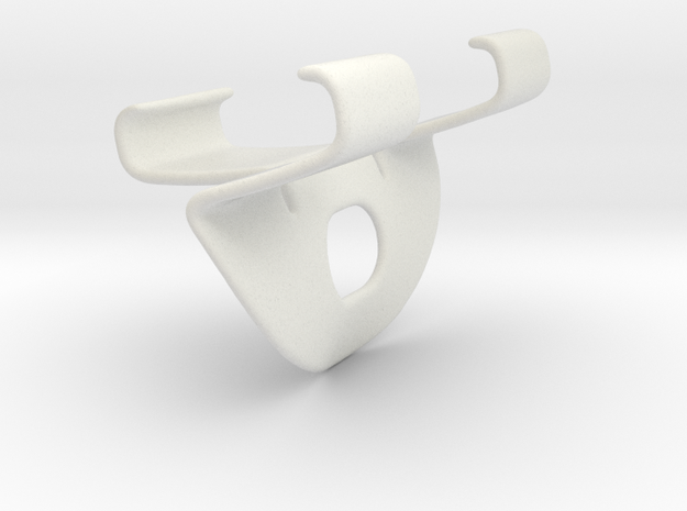 Handle FHT in White Natural Versatile Plastic